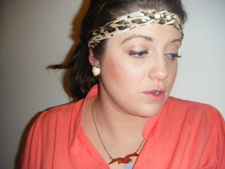 Leopard headscarf