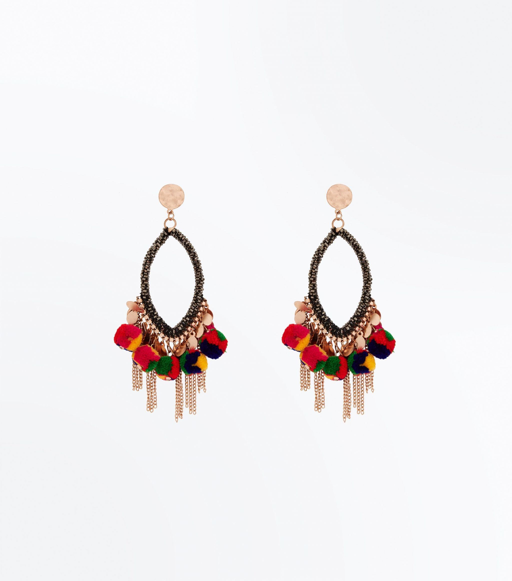 new lok pom pm earrings